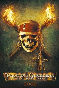 Pirates of Caribbean - teaser Affiche