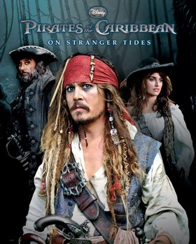 PIRATES OF THE CARIBBEAN 4  Affiche