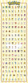 Pokemon - Kanto 151 Affiche