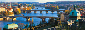 Prague – Prague bridges Affiche