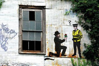 Prolifik Street Art - Police Affiche