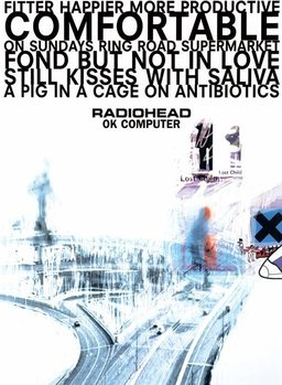 Radiohead of Computer Affiche