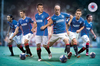 Rangers FC - Players 13/14 Affiche