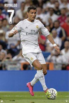 Real Madrid 2015/2016 - Cristiano Ronaldo Affiche