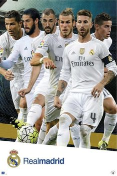 Real Madrid 2015/2016 - Grupo accion Affiche