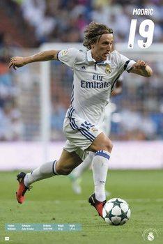 Real Madrid 2016/2017 - Luka Modrić Affiche