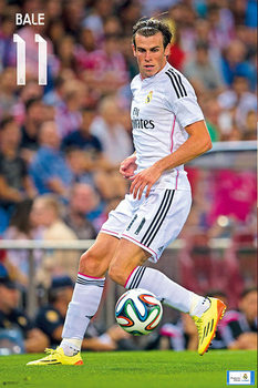 Real Madrid - Bale 14/15 Affiche