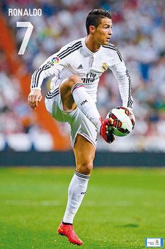 Real Madrid CF - Ronaldo Nr. 7 CR7 14/15 Affiche