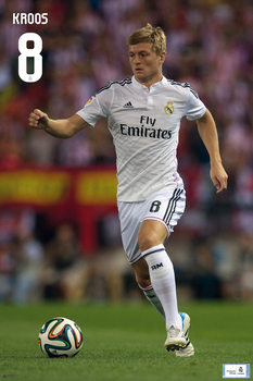 Real Madrid - Toni Kross Affiche