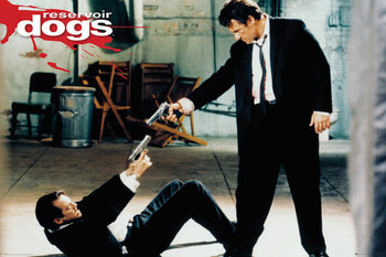 Reservoir Dogs - Guns Affiche