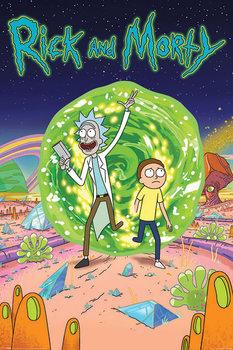 Rick & Morty - Portal Affiche