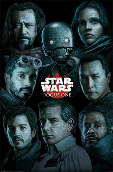 Rogue One: Star Wars Story  Characters Affiche