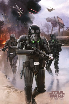 Rogue One: Star Wars Story - Death Trooper Beach Affiche