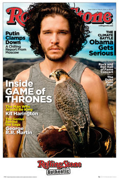 Rolling Stone - Game of Thrones Jon Stark Affiche