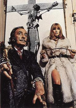 Salvador Dalí – Portrait Affiche
