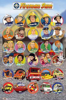 Sam le Pompier - Characters Affiche