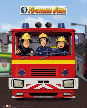 Sam le Pompier - Jupiter Affiche