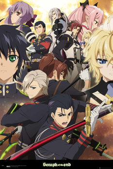 Seraph Of The End - Group Affiche