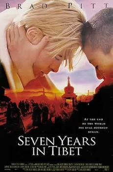 SEVEN YEARS IN TIBET  Affiche