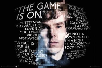 Sherlock - Sherlock Quotes Affiche