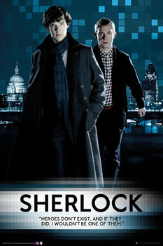 SHERLOCK - Walking Affiche