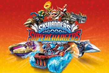 Skylanders Superchargers - Characters Affiche