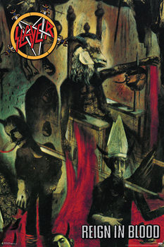 Slayer - Reign in blood Affiche