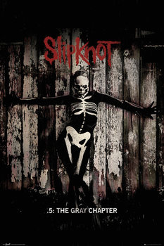 Slipknot - The Gray Chapter  Affiche