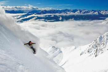 Snowboarding Affiche