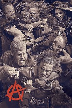 Sons of Anarchy - Fight Affiche