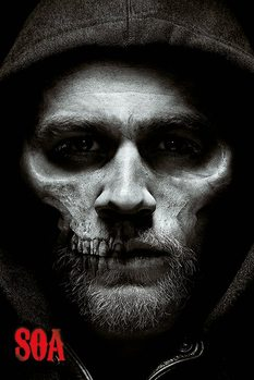 Sons of Anarchy - Jax Skull Affiche