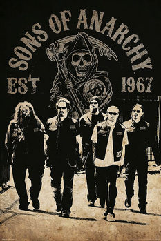 Sons of Anarchy - Reaper Crew Affiche
