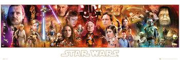 STAR WARS - Complete Saga Affiche