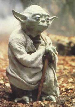 Star Wars - Empire strikes back, Yoda Affiche