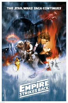 Star Wars: épisode V  L'Empire contre-attaque - One sheet Affiche