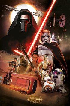 Star Wars, épisode VII : Le Réveil de la Force - Montage Affiche