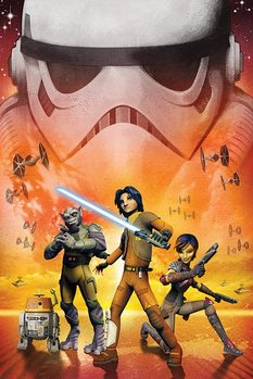 Star Wars Rebels - Empire Affiche