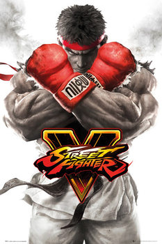 Street Fighter 5 - Ryu Key Art Affiche