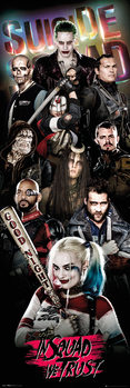 Suicide Squad - Collage Affiche