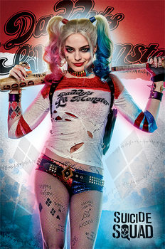 Suicide Squad - Daddy's Lil Monster Affiche