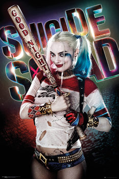 Suicide Squad - Harley Quinn Good Night Affiche