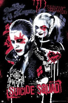 Suicide Squad - Joker and Harley Quinn Affiche