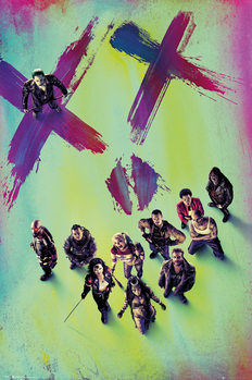 Suicide Squad - Stand Affiche