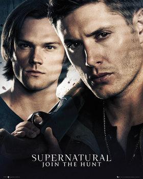 Supernatural - Brothers Affiche