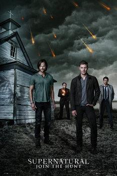 Supernatural - Church Affiche