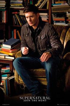 Supernatural - Dean Solo Affiche