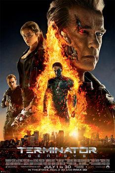 Terminator Genisys - One Sheet (Arnold Schwarzenegger) Affiche