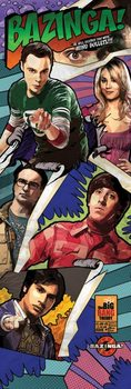The Big Bang Theory - Comic Bazinga Affiche