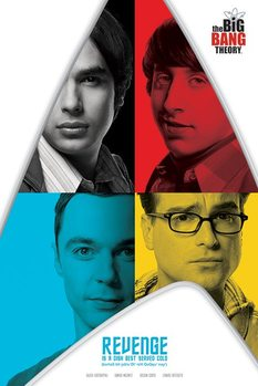 The Big Bang Theory - Revenge Affiche