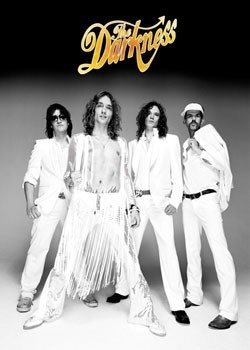 the Darkness - group Affiche